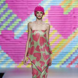 Vestido de corazones de Ágatha Ruiz de la Prada en Madrid Fashion Week primavera/verano 2015