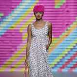 Vestido con labios de Ágatha Ruiz de la Prada en Madrid Fashion Week primavera/verano 2015