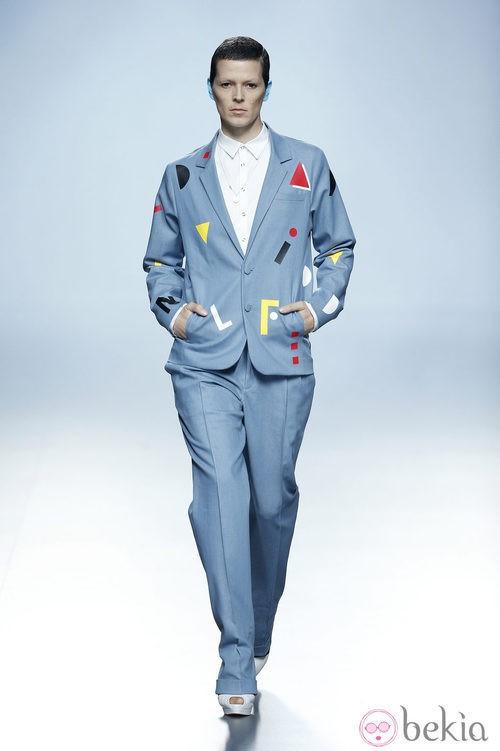 Bimba Bosé desfilando para Davidelfin en Madrid Fashion Week primavera/verano 2015