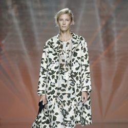 Conjunto militar de Ailanto en Madrid Fashion Week primavera/verano 2015