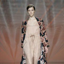Vestido rosa empolvado de Ailanto en Madrid Fashion Week primavera/verano 2015