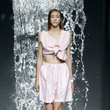 Conjunto impermeable de Pepa Salazar en EGO Madrid Fashion Week primavera/verano 2015