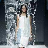Vestido impermeable de Pepa Salazar en EGO Madrid Fashion Week primavera/verano 2015