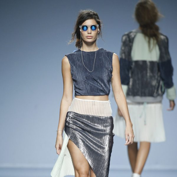 Conjunto Metalizado De Pol En Ego Madrid Fashion Week