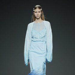 Vestido degradé de Victor Von Schwarz en EGO Madrid Fashion Week primavera/verano 2015