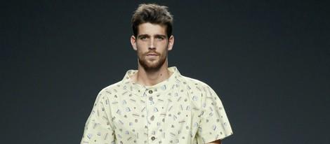Camisa estampada y bermudas de Waberley en EGO Madrid Fashion Week primavera/verano 2015
