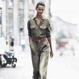 Jumpsuit verde militar de H&M para otoño/invierno 2014