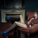 Botines azul noche de la colección otoño/invierno 2014 de Trendy Too