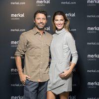 Laura Sánchez y David Ascanio presentan la nueva colección de Merkal Calzado para otoño 2014