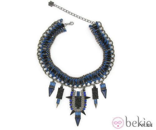 Collar de Tantrend con detalles en azul marino y negro de la colección 'Juego de Tronos'