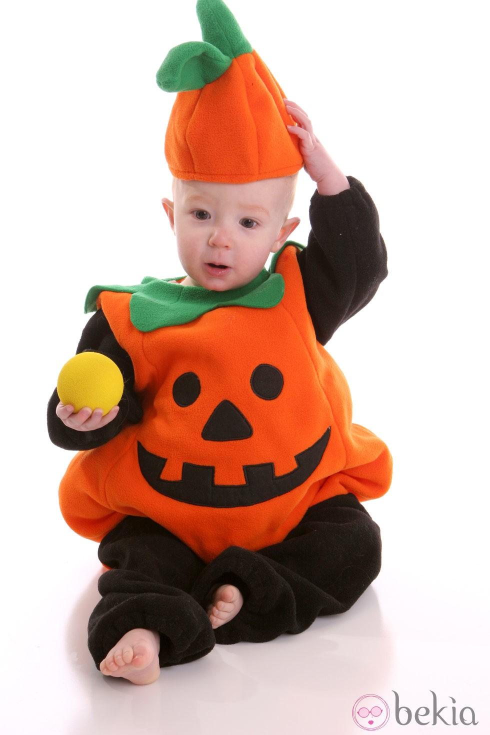 Disfraz de calabaza para beb Disfraces de Halloween para nios
