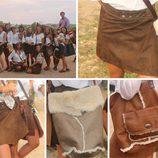 Faldas y bolsos de Inuit disponibles en Guáimaro en octubre 2014