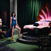 Missy Rayder con uno de los modelos de la nueva lencería Otoño/Invierno de Agent Provocateur