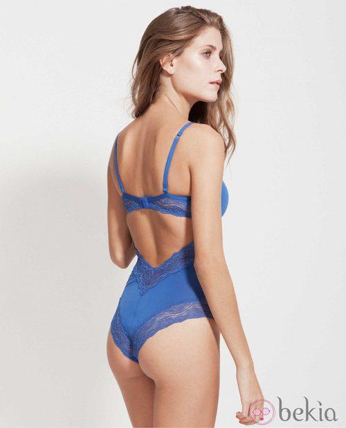 Body con espalda descubierta de la nueva colección de Alma Bloom otoño/invierno 2014/2015