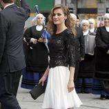 La Princesa Letizia en los Premios Príncipe de Asturias de 2012