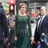 La Princesa Letizia en los Premios Príncipe de Asturias de 2013