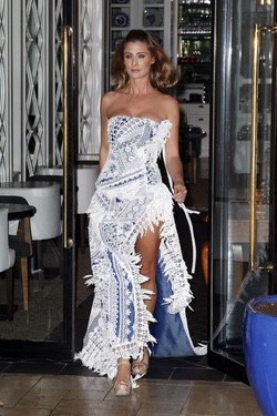 Elisabeth Reyes desfila en la presentación de la Semana de la Moda de Ibiza 2014