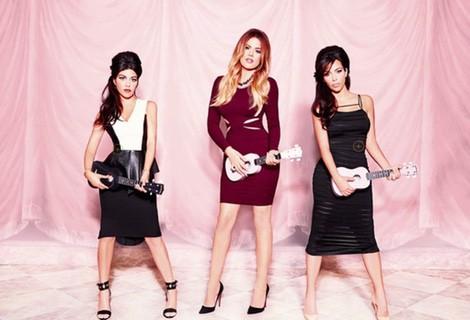 Kim, Kourtney y Khloé Kardashian presentan su nueva 'Kardashian Kollection' 2014