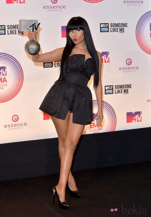 Nicki Minaj, mejor cantante femenina de hip-hop en los MTV EMA 2014