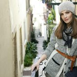 Silvia Zamora con un jersey de la nueva colección otoño/invierno 2014/2015 de Indi & Cold