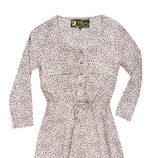 Vestido con estampado floral de la colección otoño/invierno 2014/2015 de Lois