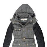 Abrigo gris y negro de la colección otoño/invierno 2014/2015 de Lois
