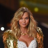 Karlie Kloss sobre la pasarela de 'Victoria's Secret Fashion Show 2014'