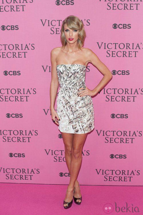 Taylor Swift en el desfile anual de Victoria's Secret 2014