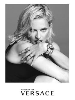 Madonna, nueva imagen de Versace para la colección primavera/verano 2015