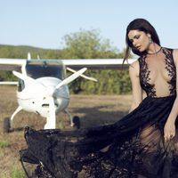 Vestido Medusa de la colección 'Gala' de la diseñadora Charo Ruiz