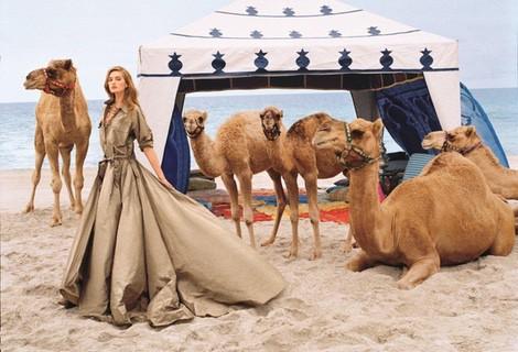 Sanne Vloet como imagen de la colección primavera/verano 2015 de Ralph Lauren