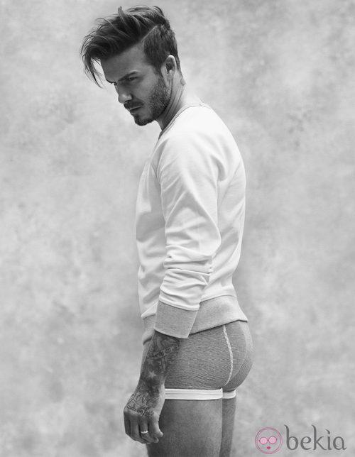 David Beckham con su colección bodywear primavera 2015