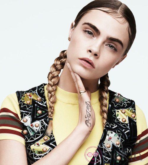 Cara Delevingne, la musa perfecta para DKNY
