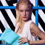 Jessica Stam  con la colección primavera/verano 2015 de Kocca