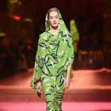 Vestido de Schiaparelli en la Semana de la Alta Costura de París primavera/verano 2015