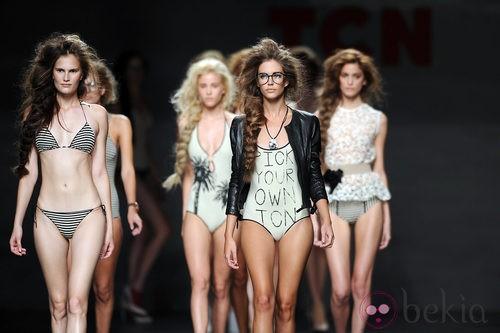 TCN presenta su colección primavera 2012 en Cibeles Madrid Fashion Week