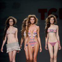 Propuestas de baño de la colección primavera/verano 2012 de TCN en Cibeles