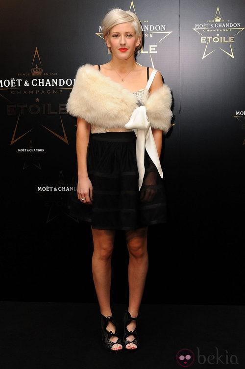 Ellie Goulding en los premios de la moda Moët & Chandon Étoile en Londres