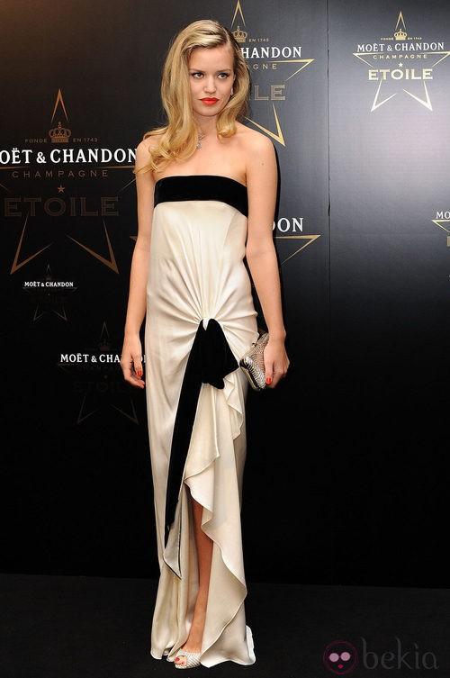 Georgia May Jagger en los premios de la moda Moët & Chandon Étoile en Londres