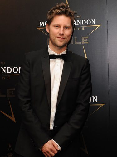 Christopher Bailey en los premios de la moda Moët & Chandon Étoile en Londres
