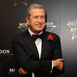 Mario Testino en los premios de la moda Moët & Chandon Étoile en Londres