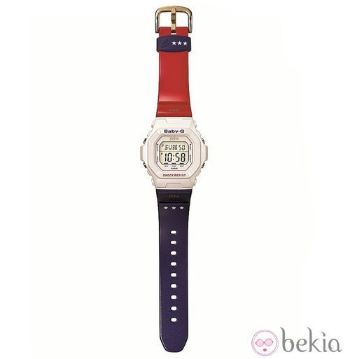 Reloj Casio Baby-G diseñado por Ke$ha