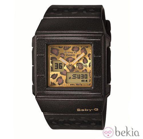 Reloj con estampado animal de Ke$ha para Casio Baby-G