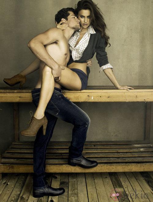 Irina Shayk y Arthur Sales presentan la colección otoño/invierno 2011/12 de Xti