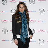 Melanie C, de las Spice Girls, con botas en la alfombra roja
