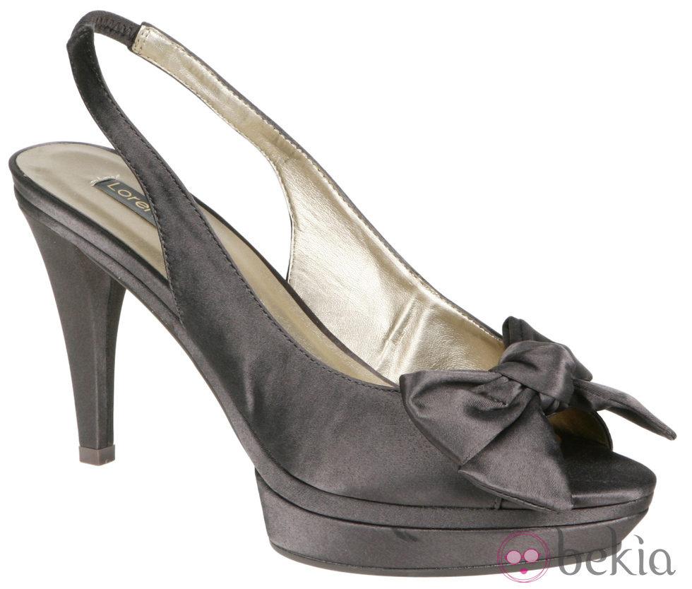 Grises Con Zapatos Toe Lorena Peep CarrerasColección Plataforma De 9EDW2IHY