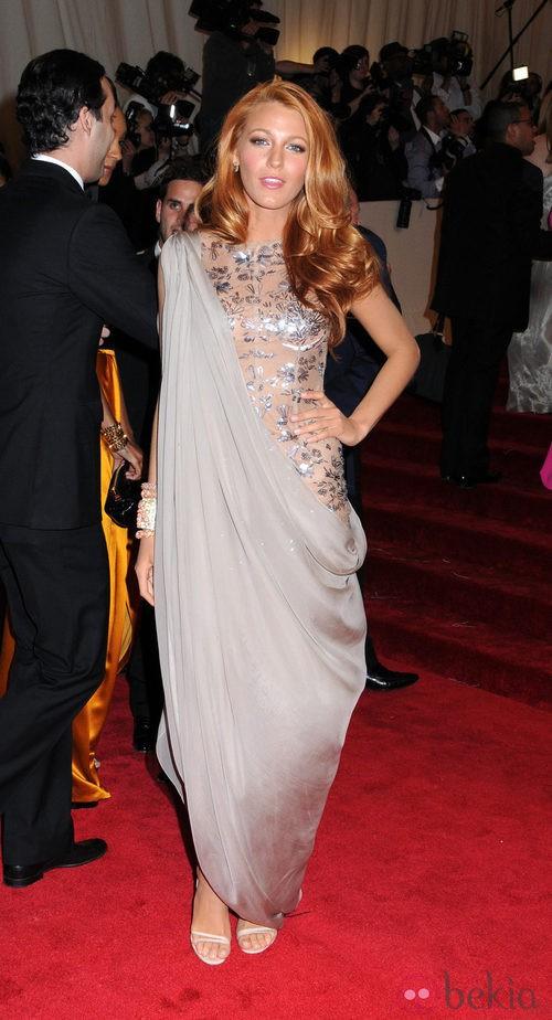 Blake Lively de Chanel Couture en la gala del MET 2011