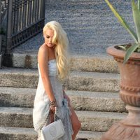 Lindsay Lohan posa para la marca Philipp Plein