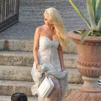 Lindsay Lohan con total look de Philipp Plein