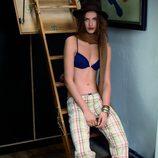 Pijama de cuadros de la colección otoño/invierno 2011 de Women'secret